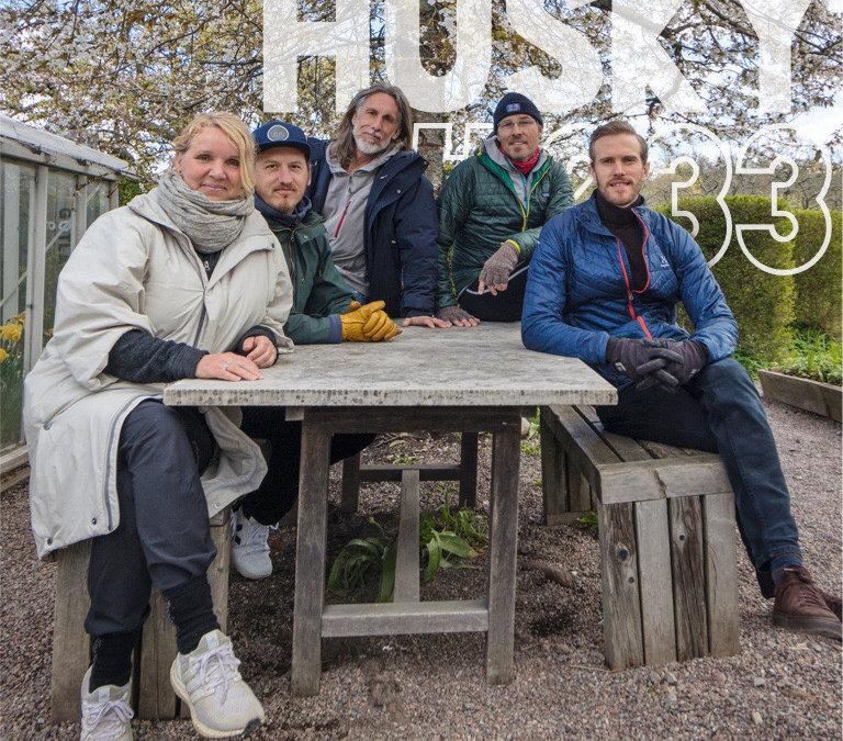 Husky Podcast Avsnitt 233, Coronapandemi och frön till förändring. Samtal med Eva Karlsson, Oskar Kihlborg, Peter Sandahl och Erik Huss!