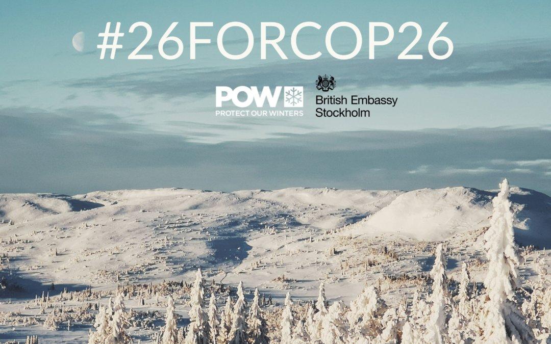 Kampanj för FN-konferensen COP26